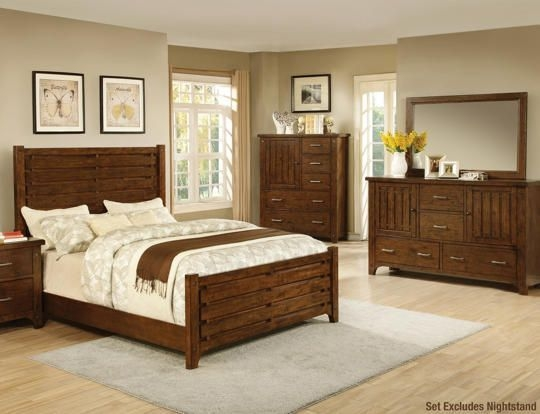 Mustang 6Pc King Bedroom Set  Art Van Furniture  Bedroom Sets King Bedroom Sets Bedroom Set