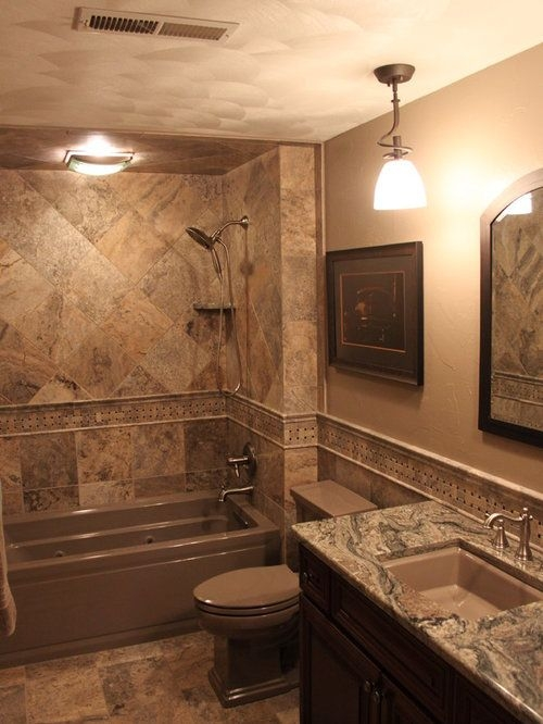 Natural Stone Bathroom Design Ideas  Remodel Pictures  Houzz
