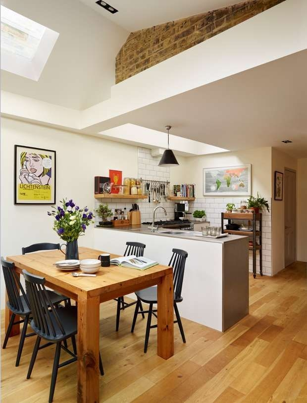 Open Plan Living Space In Kitchen Extension  Open Plan Kitchen Dining Living Open Plan Kitchen