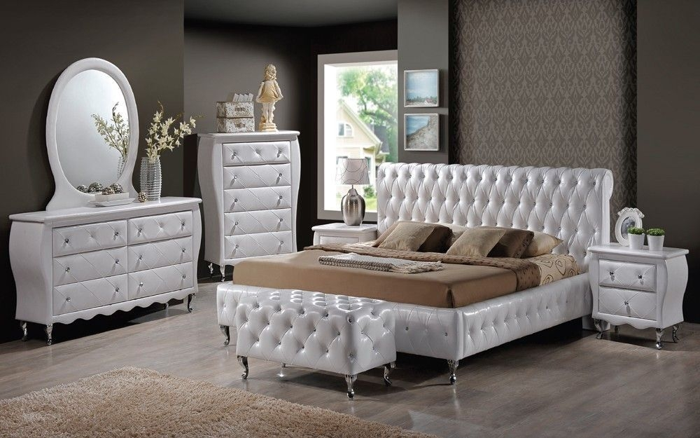 Packages  Modern Beds And Bedroom Furniture – Bedroomsaura Perth Wa  White Leather Bed