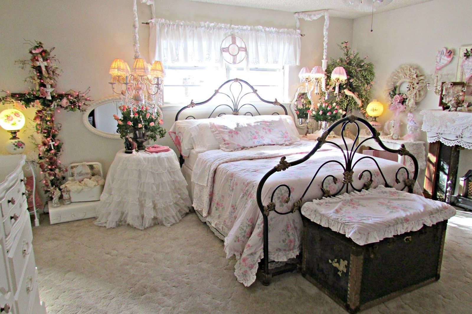 Penny'S Vintage Home Romantic Ideas For Decorating Your Bedroom