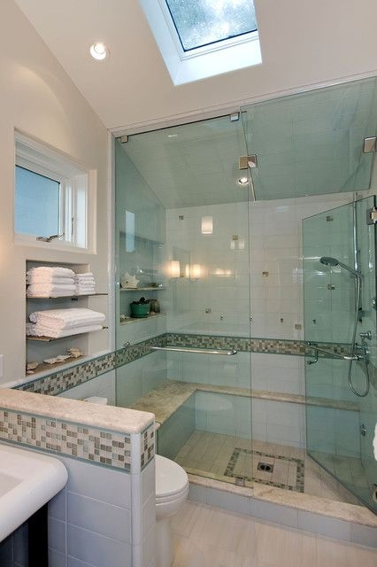 Pool House Bathroom  Contemporary  Bathroom  San