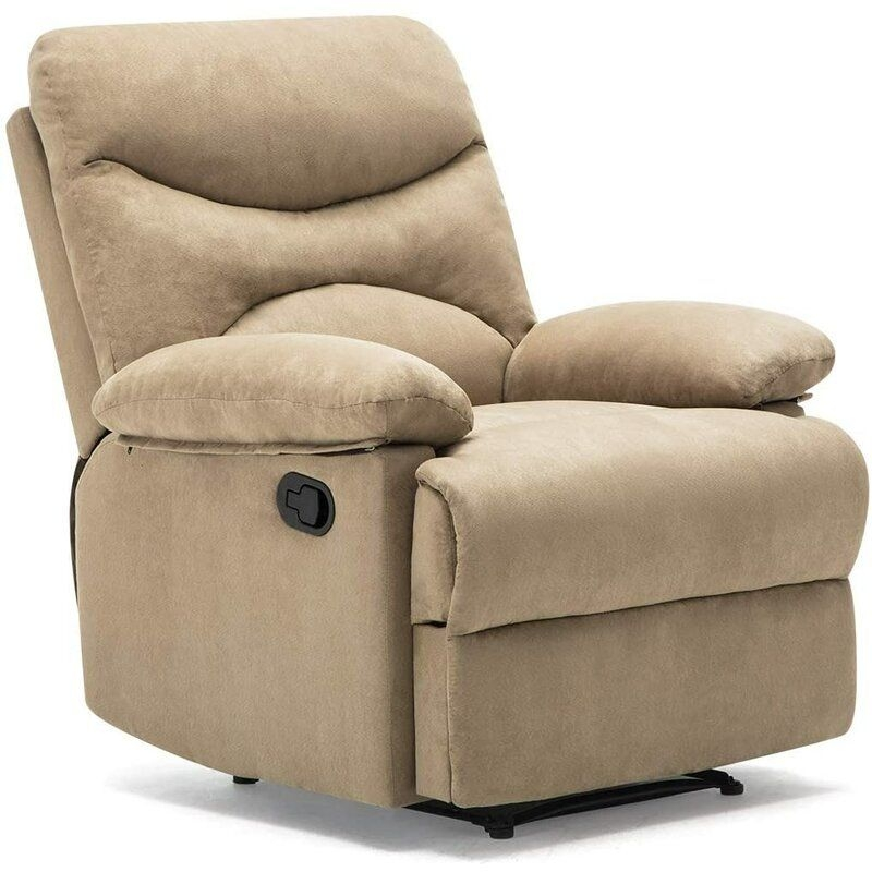 Red Barrel Studio Massage Recliner Chair Microfiber Living Room Ergonomic Sofa With Vibrating