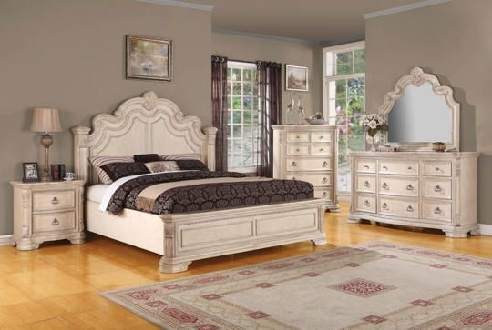 Riviera King Bed  Art Van Furniture  White Bedroom Set Bedroom Furniture Brands Interior