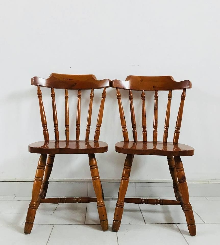 Rustic Kitchen Chairs 1930S Set Of 4 For Sale At Pamono