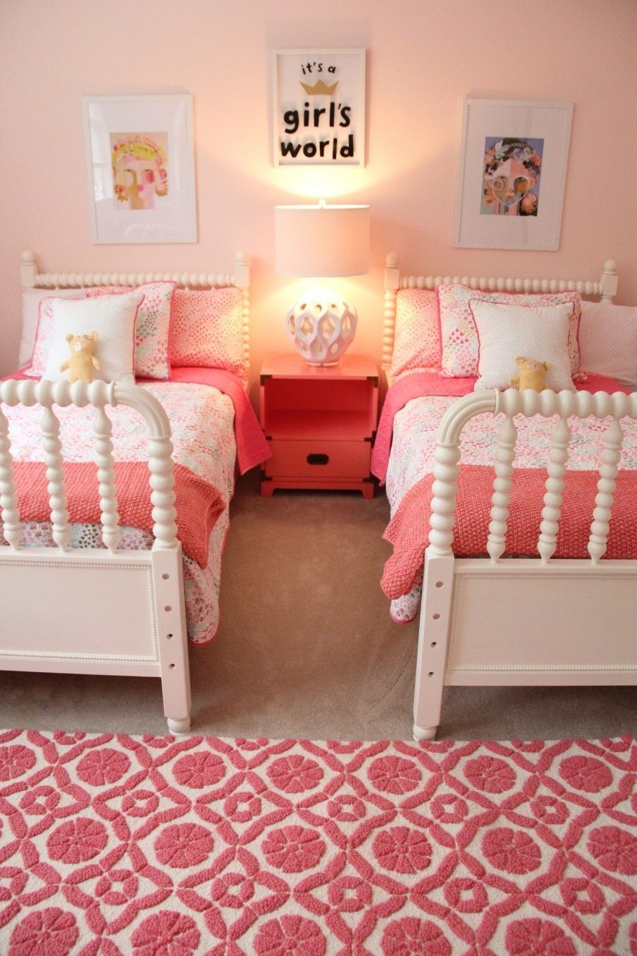 Shared Girls Rooma Room To Grow Up In  Shared Girls Bedroom Toddler Girl Room Diy Girls Bedroom