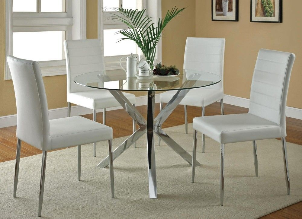 Small Dinning Table Kitchen Furniture With Images  Glass Round Dining Table Modern Kitchen