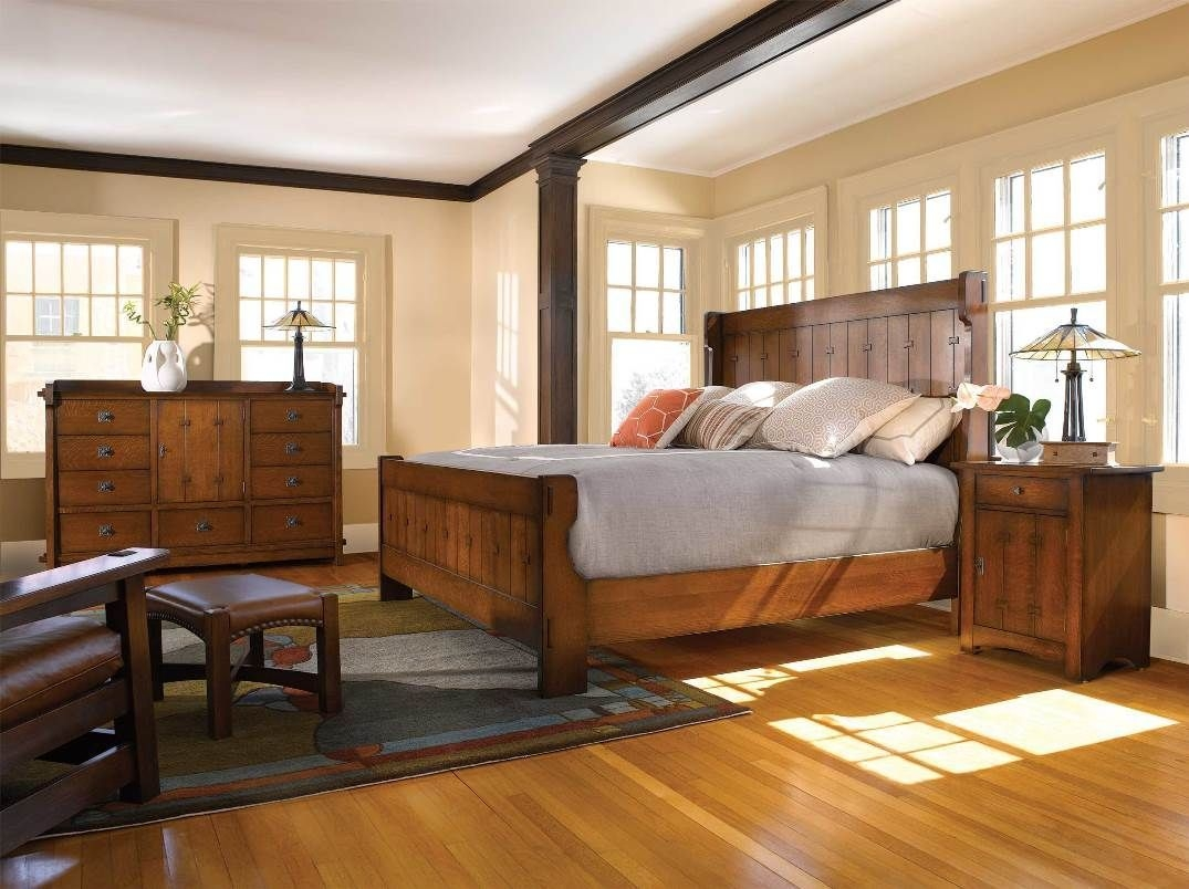 Stickley Gus Settle Bed Mission Furniture Made In Usa  Stickley Furniture Quality Bedroom