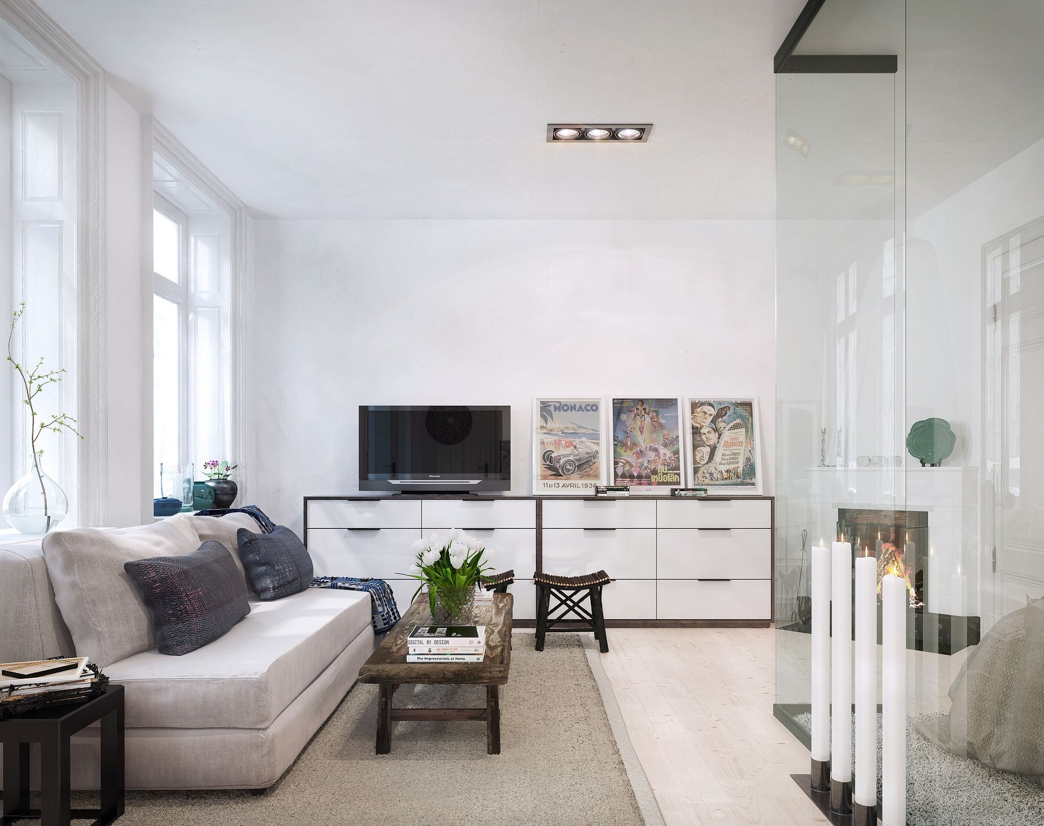 Stockholm Apartment  Living Room Candidate Apartment Interior Design Apartment Interior