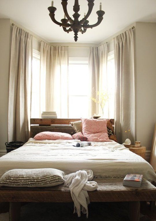Strange Spots To Place Your Bed And How To Make Them Work  Bedroom Furniture Layout Bedroom