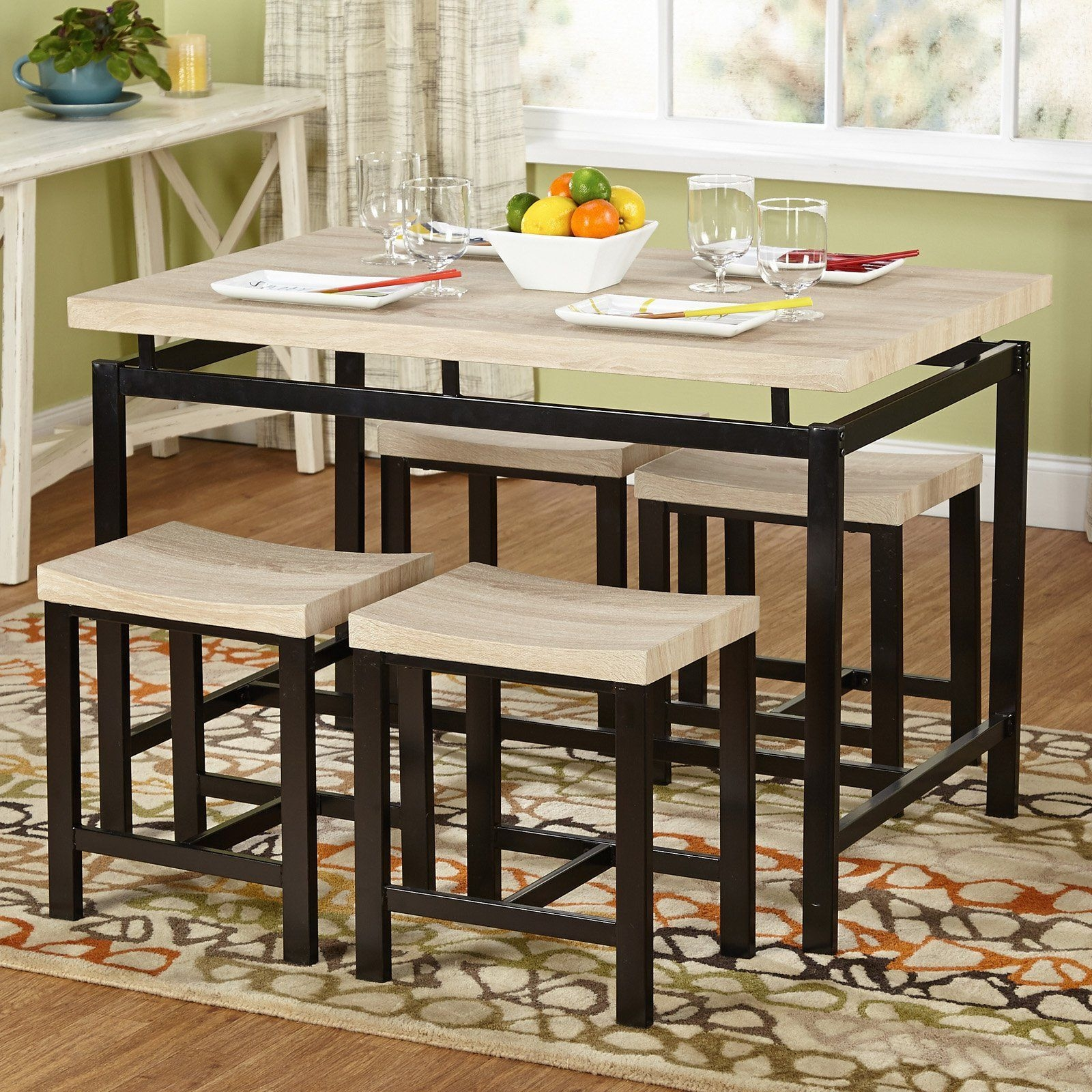 Target Marketing Systems Delano 5 Piece Dining Table Set  From Hayneedle  Dining Furniture