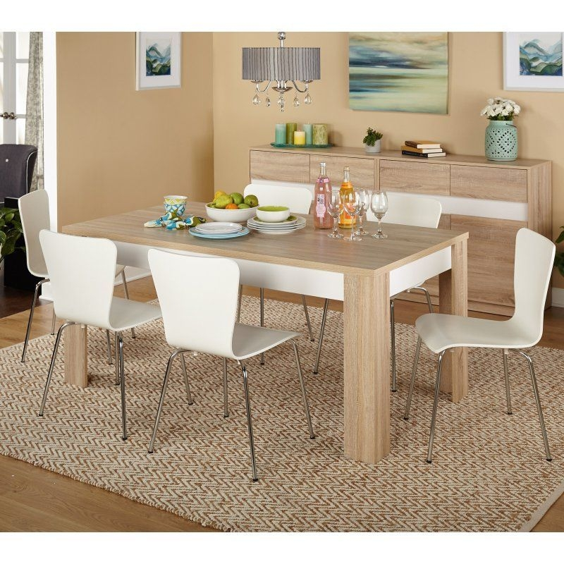 Target Marketing Systems Mandy 7 Piece Dining Table Set  99927Nat  Kitchen Dining Sets 7
