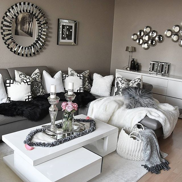 The 25 Best Silver Living Room Ideas On Pinterest  Living Room Decor Colors Grey Silver