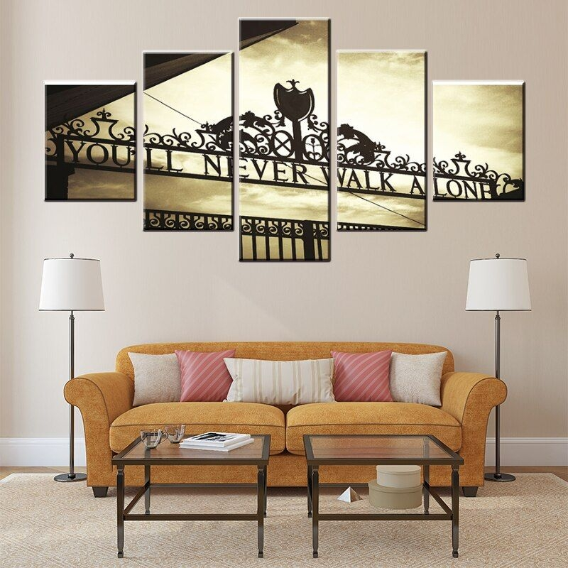 Wall Art Hd Prints Home Decor Living Room Paintings 5 Pieces Beauty Landscape You Will Never