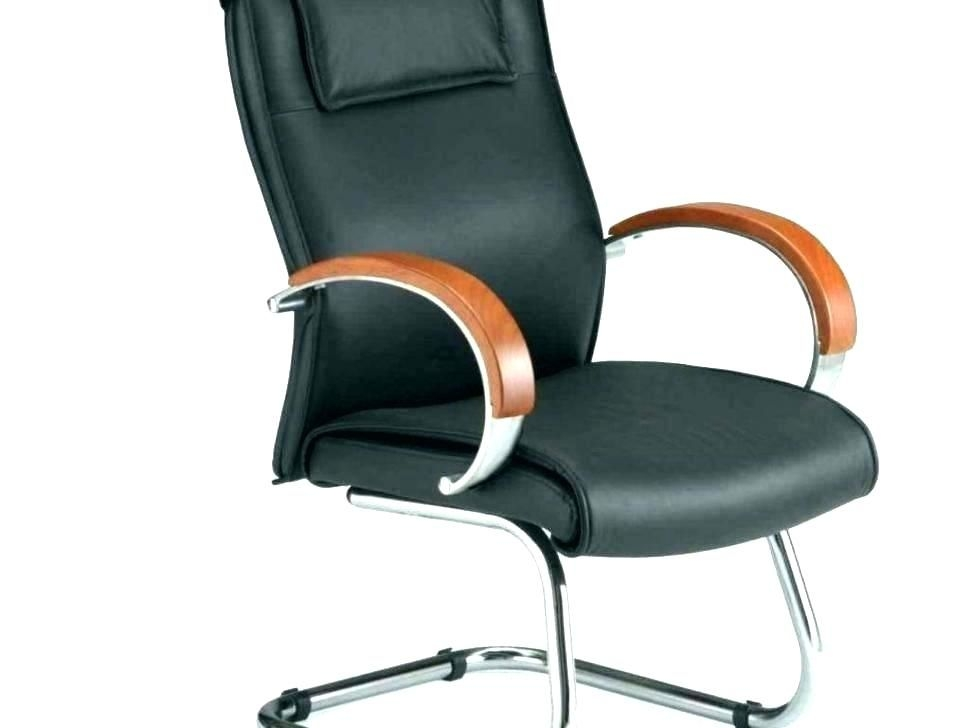 Wooden Chair Casters Office Chairs With Furniture Ideas Modern Furnishing Contemporary Desk