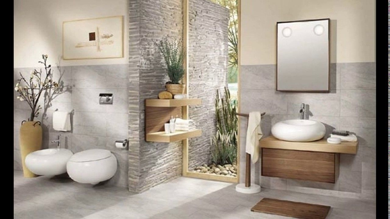 Zen Bathroom Design  Youtube