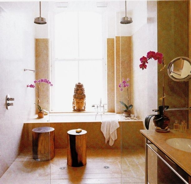 Zen Inspired Bathrooms  Style Caramel