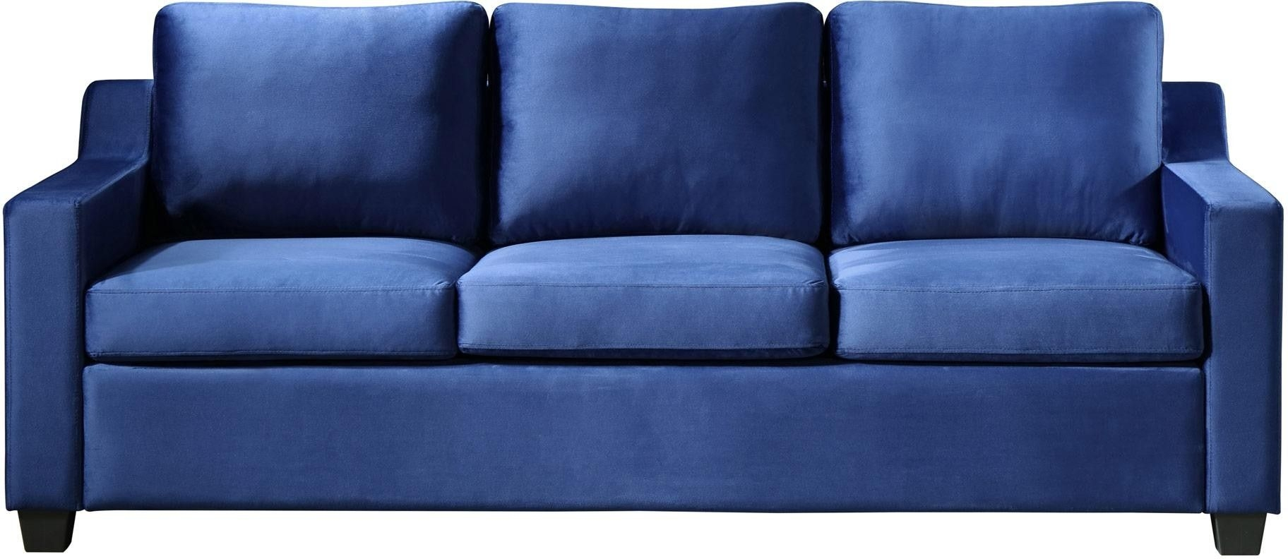 Glory Furniture Ashley G976As Sofa Navy Blue  1Stopbedrooms