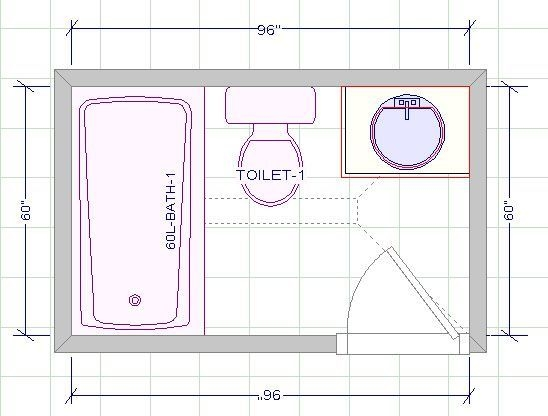 Image Result For 5 X 8 Bathroom Layout  Bathroom Floor Plans Bathroom Layout Small Bathroom